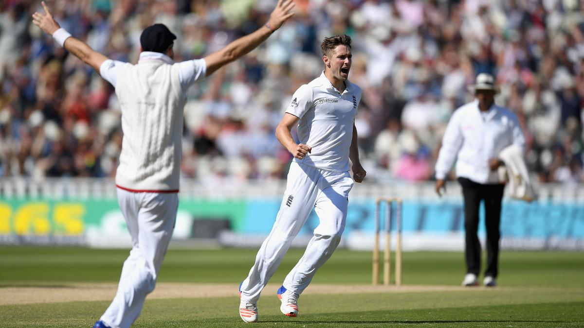 Chris Woakes is one of a number of England players to have played in a Bunbury Festival