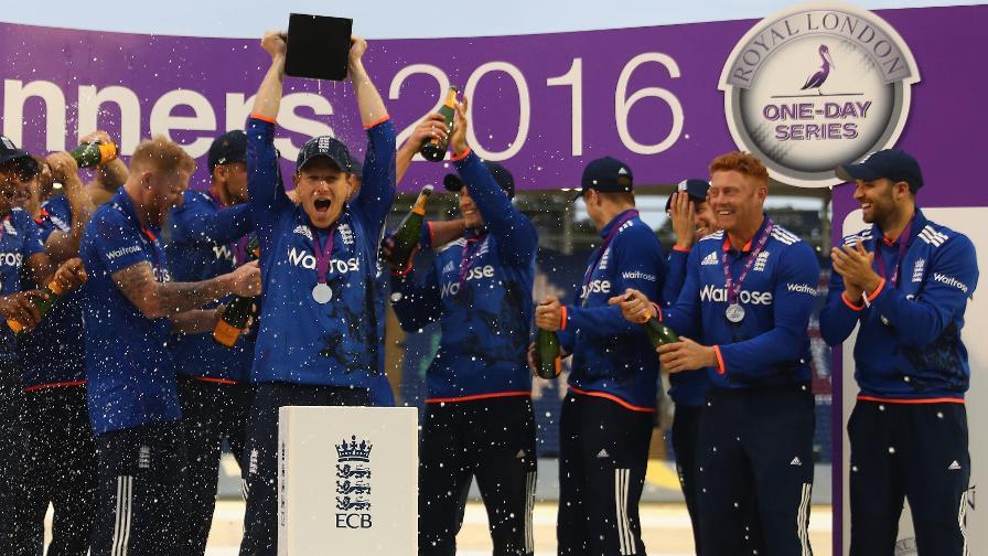 Eoin Morgan reviews England's 4-1 win