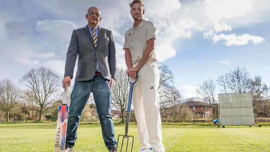 Broad returns to roots at first club
