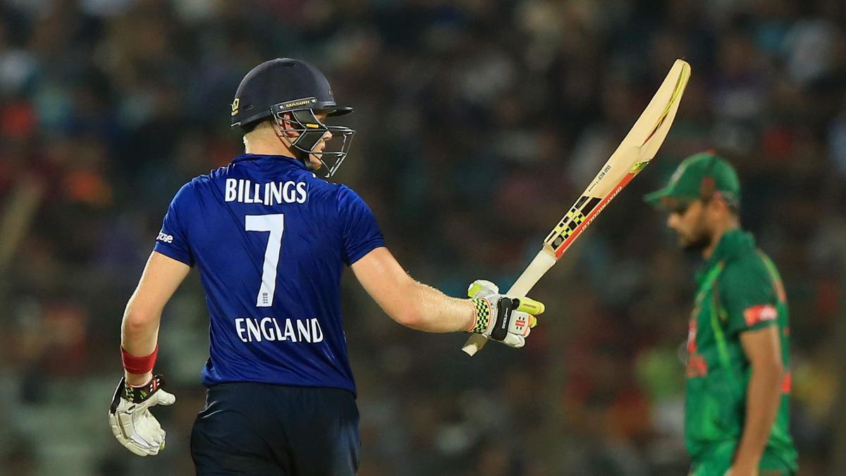 Sam Billings scored 62 in his last ODI