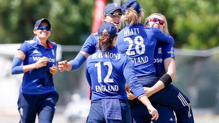 England take series with Kingston win