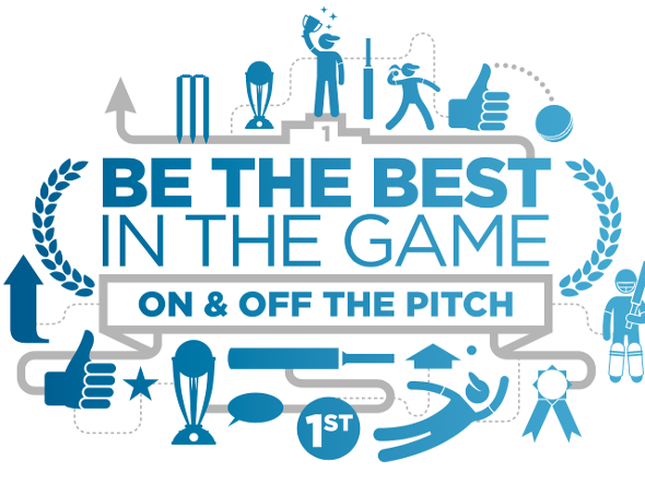 Be the best in the game – on and off the pitch