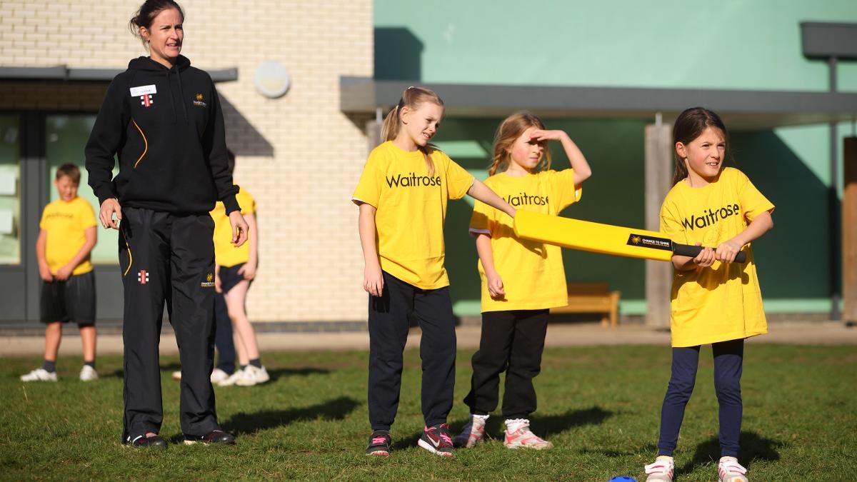 Chance to Shine will aim to reach 500,000 primary school children each year