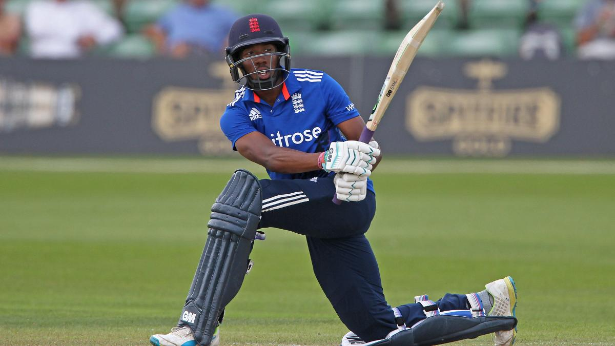 Daniel Bell-Drummond in action for England Lions