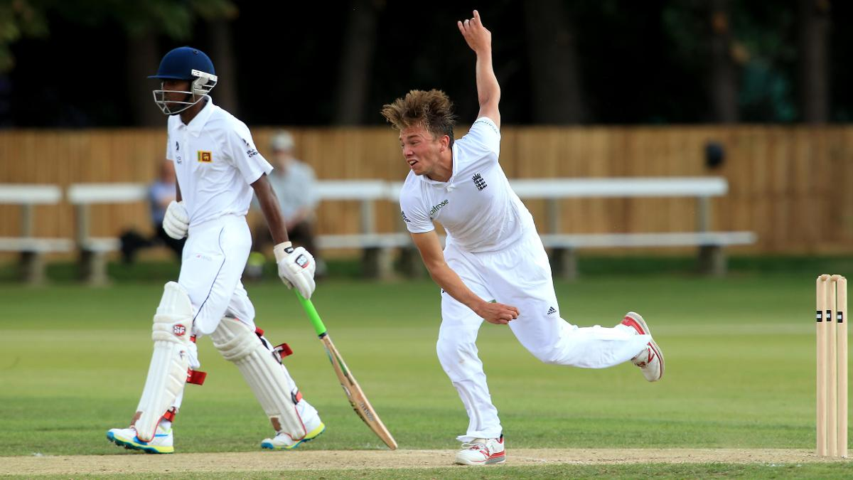 Essex seamer Aaron Beard is one of five players already capped by England Under-19s