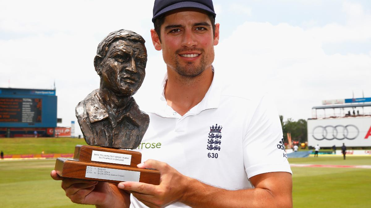 Alastair Cook captained England to a series win in South Africa