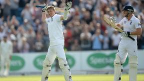 Joe Root hits maiden Test hundred