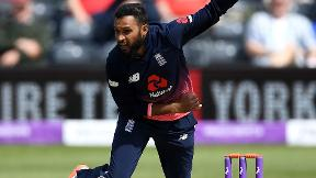 Watch Rashid take five wickets as England bowl Ireland out for 126