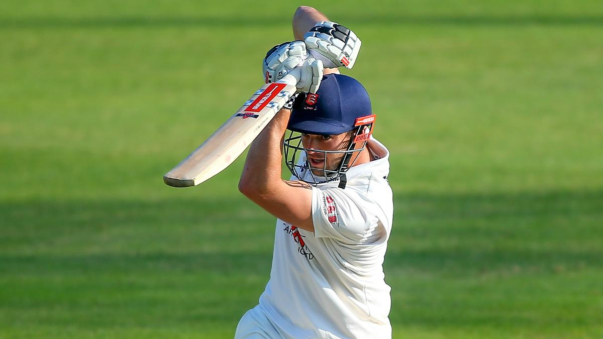 Nick Browne shone for Essex with nine fours and one six