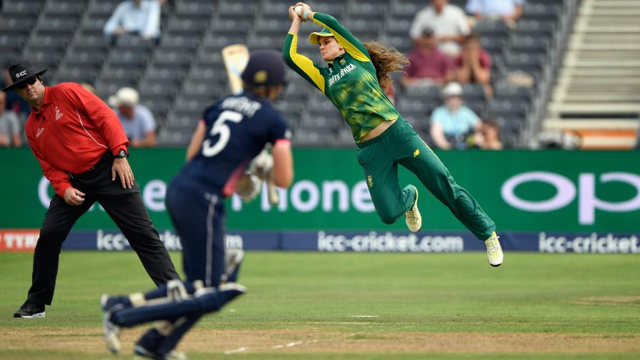 Heather Knight made 30 before hitting a full toss to square leg