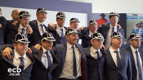 England Learning Disability squad receive their caps