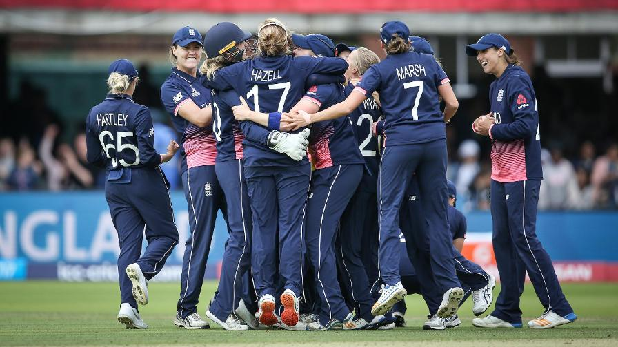 England seal World Cup glory as Anya Shrubsole takes her sixth wicket