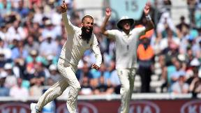 Watch Moeen Ali's hat-trick in full