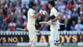 Highlights - Cook and Root centuries light up England's first day-night Test