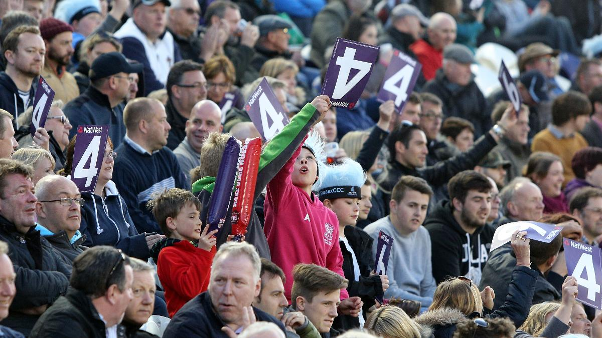 The aggregate NatWest T20 Blast attendance figure is 7% higher than the competition's previous best