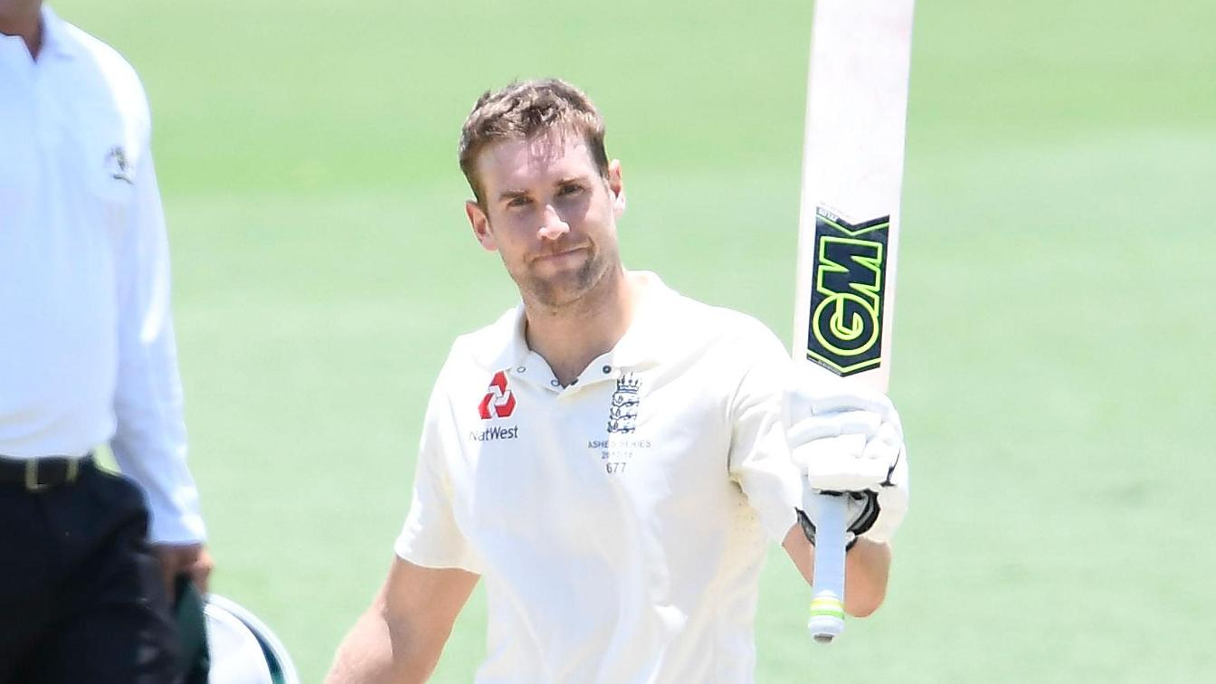 Dawid Malan scored 109 in England's first innings