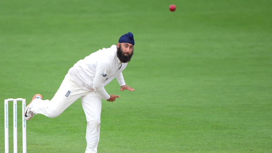 Amar Virdi stars for England Lions on day one