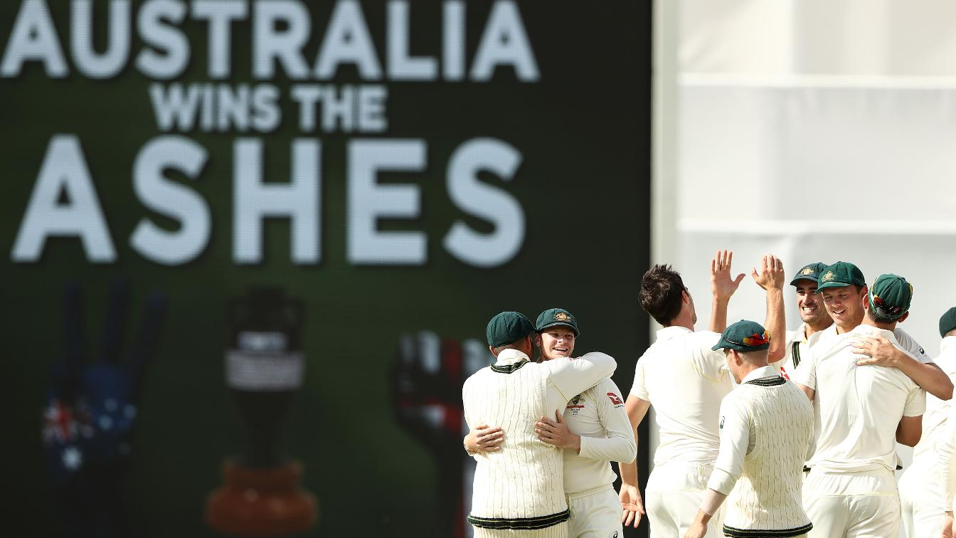 URN-BELIEVABLE - Australia get their party started