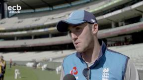Overton loving his Ashes experience