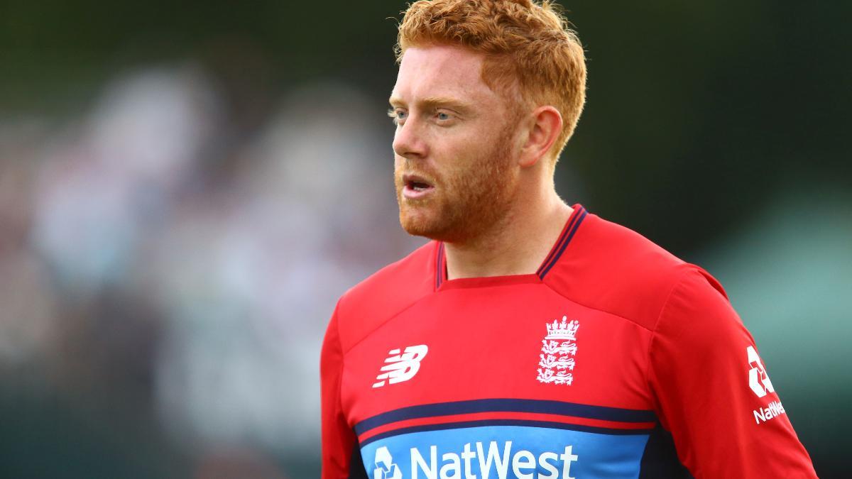 Jonny Bairstow in England T20 kit