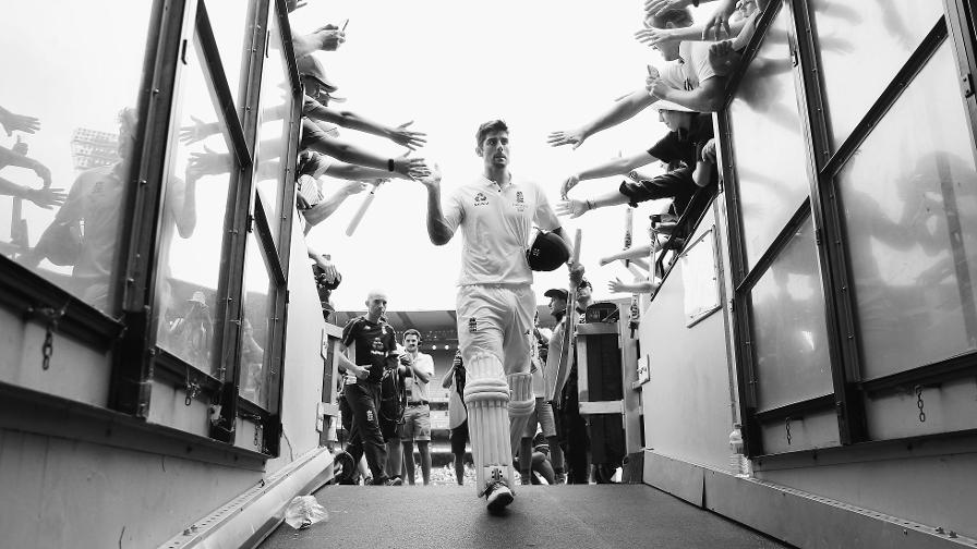 Alastair Cook announces his retirement from international cricket