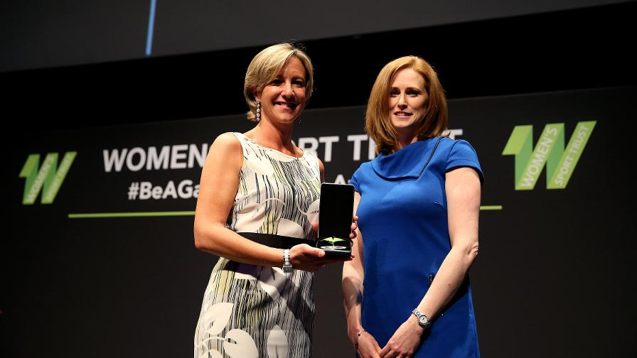 ECB Honoured At Women's Sport Trust Awards