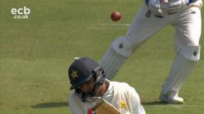 Abbas out caught Bairstow bowled Wood
