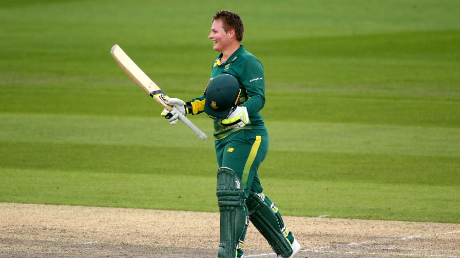 South African opener Lizelle Lee receives loud applause for her swashbuckling century
