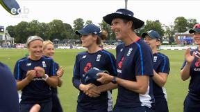 Nat Sciver receives her 50th ODI Cap