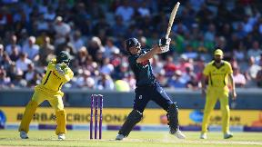 Watch Jos Buttler's match-winning century against Australia