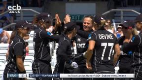 Beaumont out caught Martin bowled Tahuhu