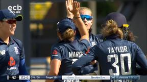 Green out caught Sciver bowled Ecclestone