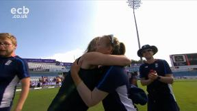 Katie George receives her first cap