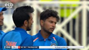 Willey out caught Rahul bowled Kuldeep