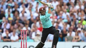 Ben Foakes hits punishing half-century