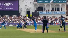 Buttler sends Chahal delivery for four