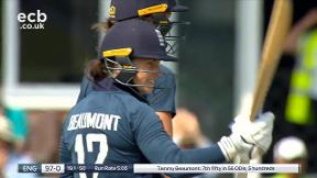 Beaumont four brings up her 50
