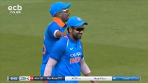 Ali out, caught Rohit bowled Chahal