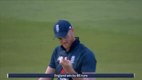 England win - Chahal out c Stokes b Willey