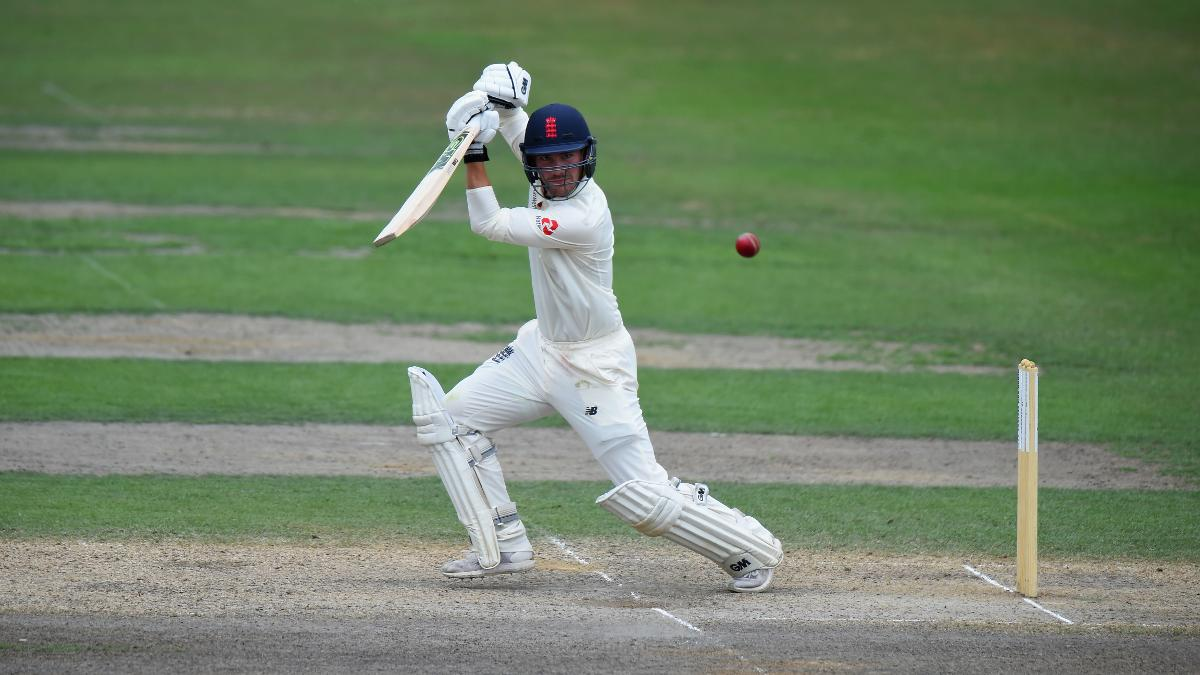Rory Burns led England Lions to victory after making his debut as captain