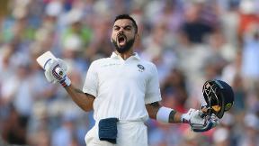 Kohli rescues India on thrilling day | Highlights - England v India