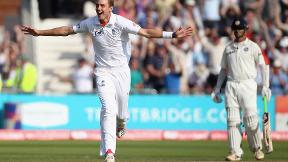 Watch Stuart Broad's hat-trick against India in 2011