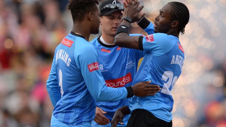Sussex secure a place in the Blast final with victory over Somerset