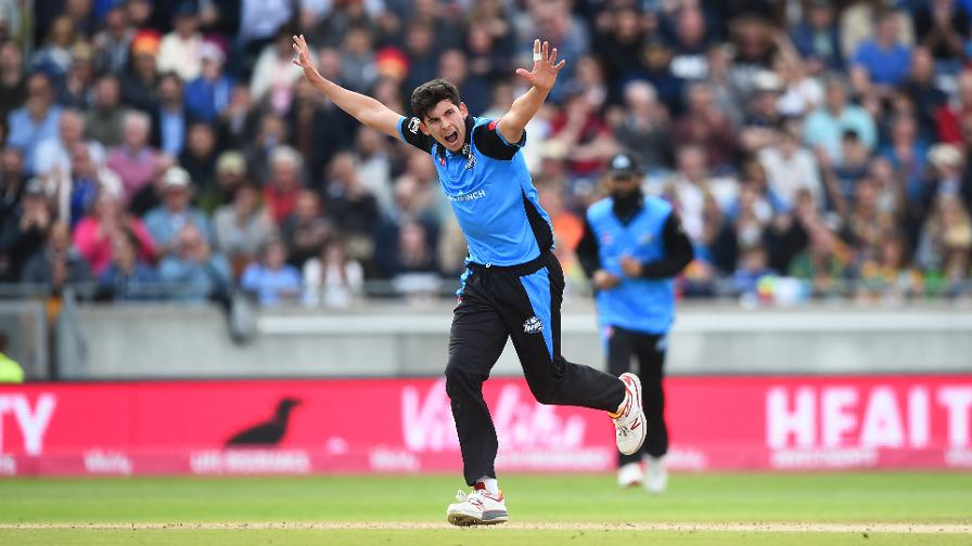 Patrick Brown finishes as the Vitality Blast leaving wicket-taker