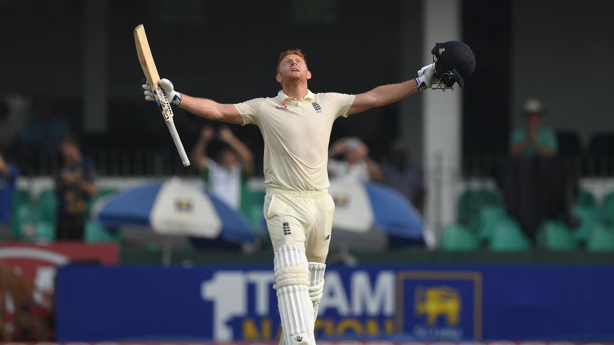Jonny Bairstow scored his sixth Test century in Colombo