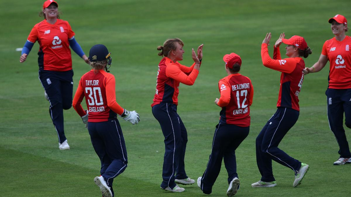 The off-spinner was a leader for her side on and off the field