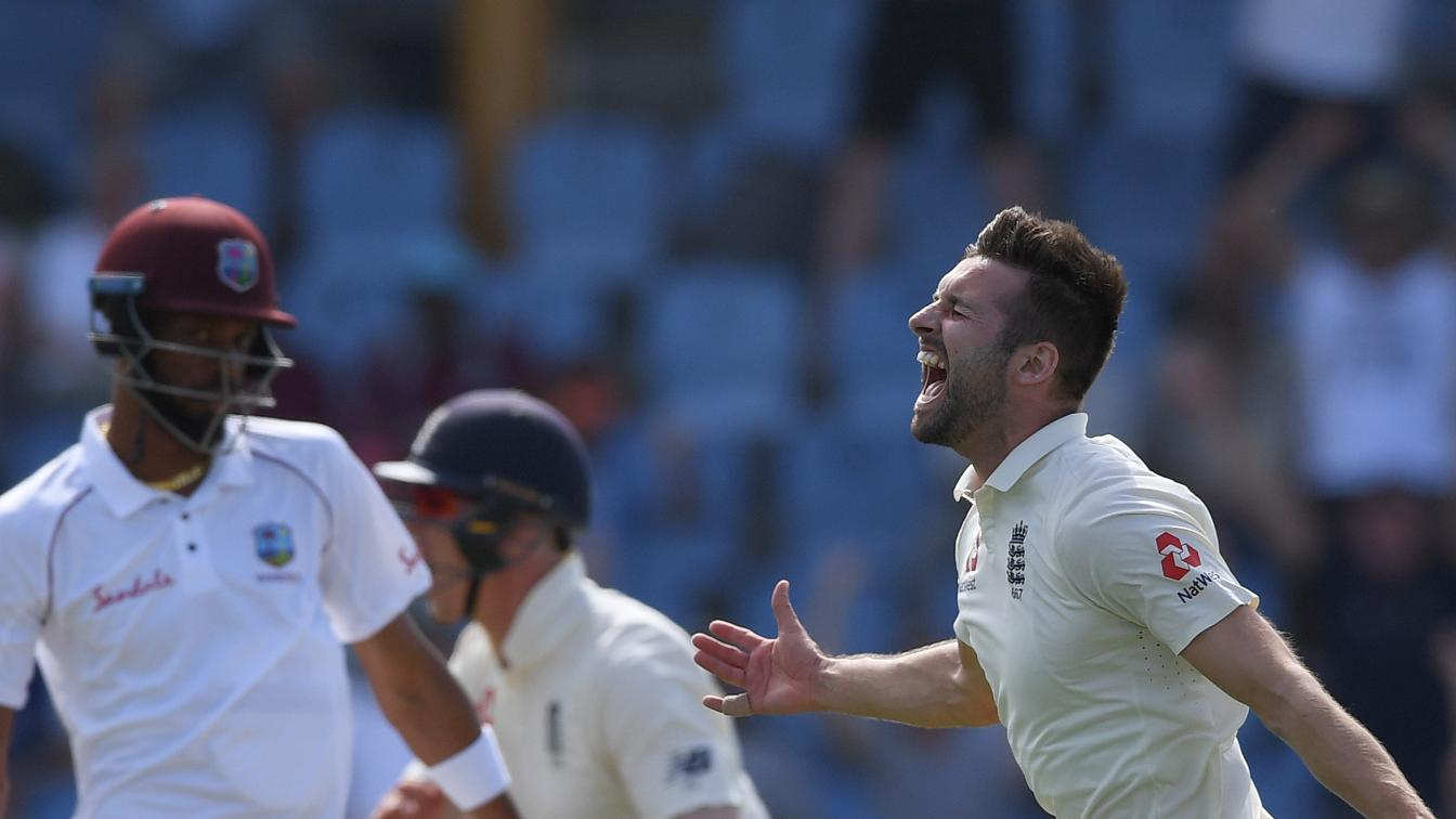 Wood celebrates on Day 2 in St Lucia