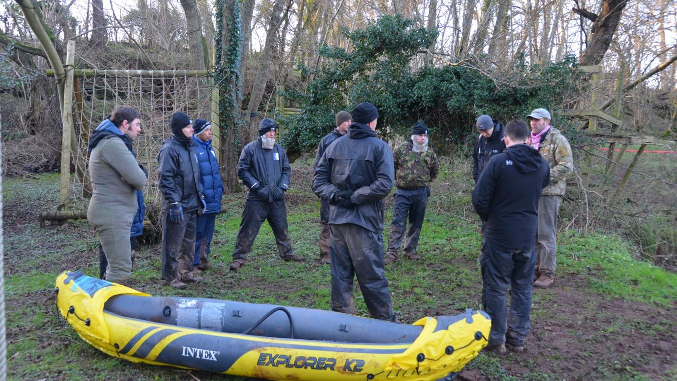 Coaches on ECAS scheme went on a military course in 2015/16