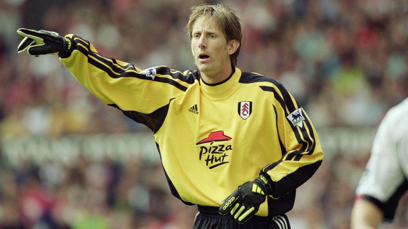 Netherlands goalkeeper Edwin van der Sar joined Fulham in 2001