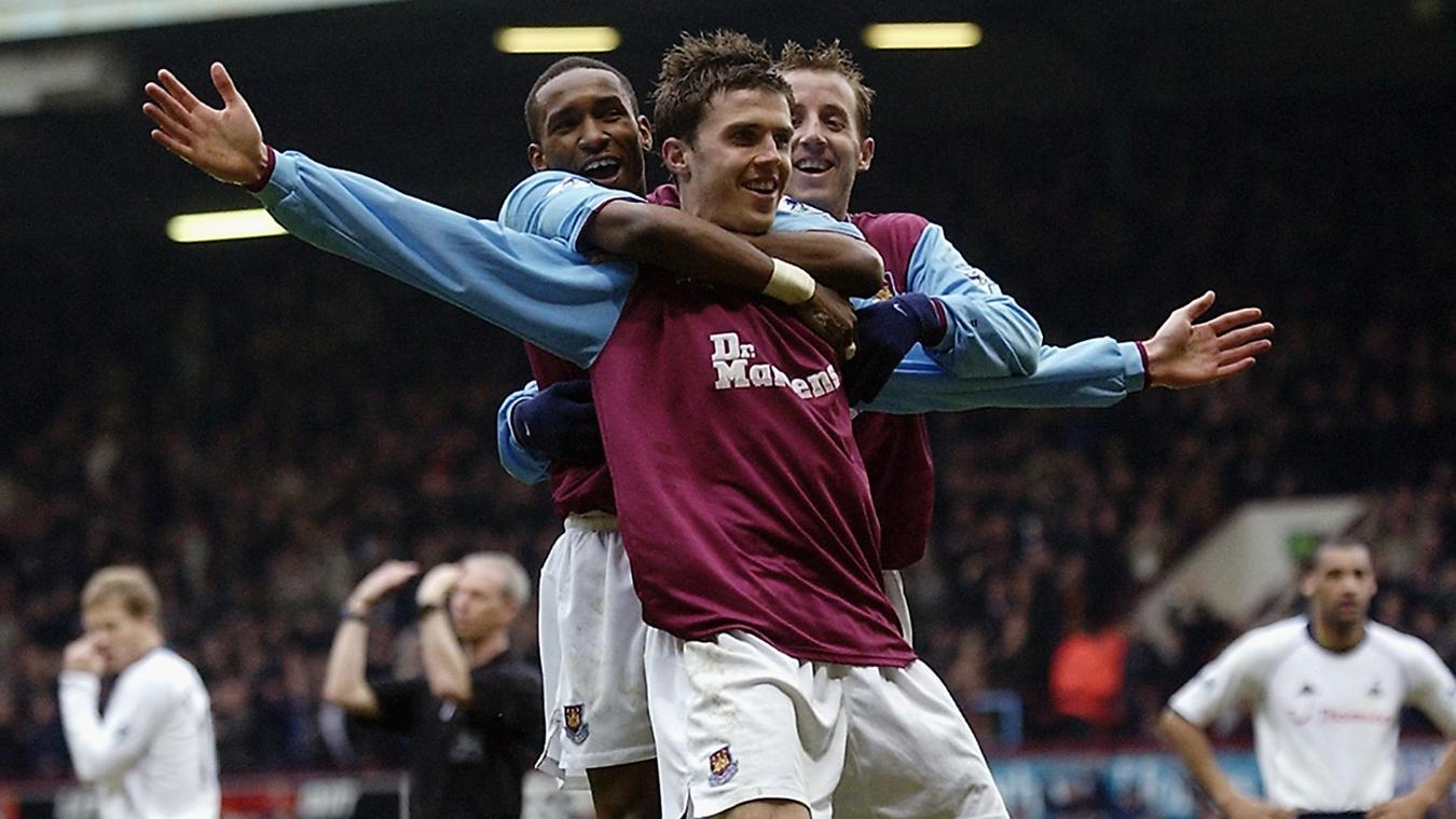 Michael Carrick was also in West Ham's talented squad